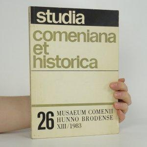 náhled knihy - Studia comeniana et historica 26, XIII/1983
