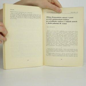 antikvární kniha Studia comeniana et historica 26, XIII/1983, 1983