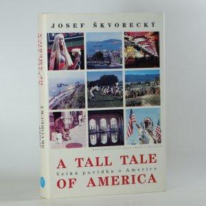 náhled knihy - Velká povídka o Americe. A Tall tale of America.