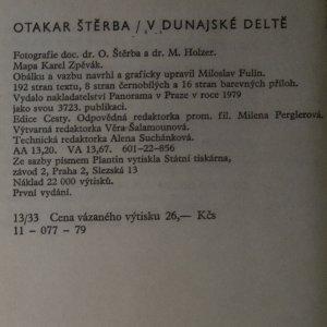 antikvární kniha V dunajské deltě, 1979