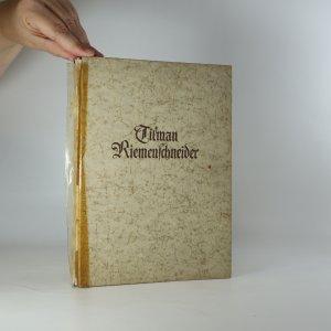 náhled knihy - Tilman Riemenschneider (mit 112 Bilder)