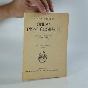 náhled knihy - Ohlas písní českých