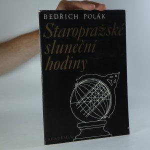 náhled knihy - Staropražské sluneční hodiny