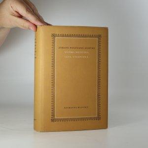 náhled knihy - Viléma Meistera léta učednická