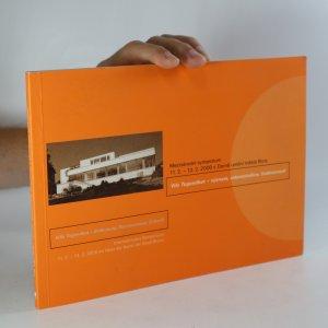 náhled knihy - Vila Tugendhat - význam, rekonstrukce, budoucnost