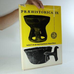 náhled knihy - Praehistorica IX. Nástin evropského pravěku
