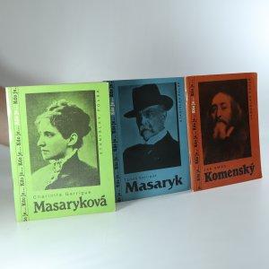 náhled knihy - Kdo je... (3x) Charlotta Garrigue Masaryková, Jan Amos Komenský, Tomáš Garrigue Masaryk