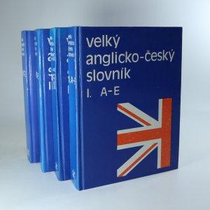 náhled knihy - Velký anglicko-český slovník I.-IV. (4 svazky)