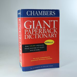 náhled knihy - Chambers Giant Paperback English Dictionary