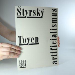 náhled knihy - Štyrský, Toyen. Artificialismus (1926 - 1931)