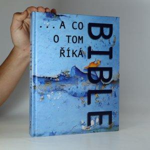 náhled knihy - ...a co o tom říká Bible