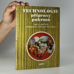 náhled knihy - Technologie přípravy pokrmů pro 2. ročník středních hotelových škol, studijní obor provoz hotelů a společného stravování