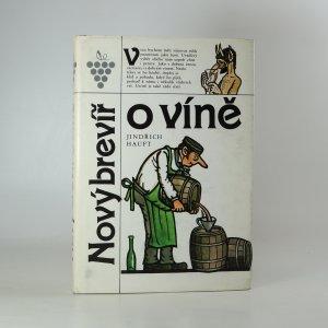 náhled knihy - Nový brevíř o víně