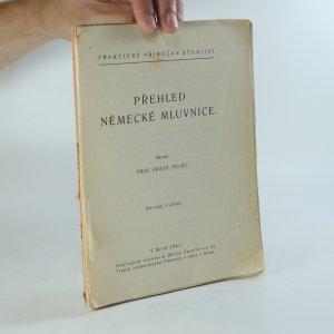 náhled knihy - Přehled německé mluvnice