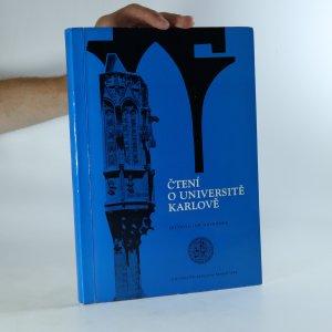 náhled knihy - Čtení o Universitě Karlově