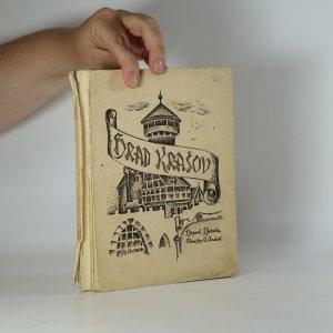 náhled knihy - Hrad Krašov (s originálním průvodním reklamním lístkem)
