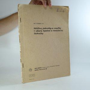 náhled knihy - Veličiny, jednotky a značky v oboru tepelné a ventilační techniky