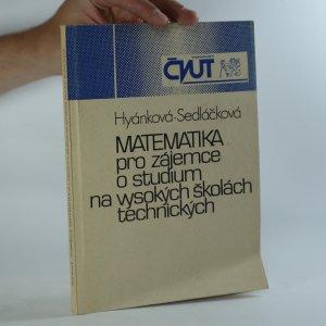 náhled knihy - Matematika pro zájemce o studium na vysokých školách technických