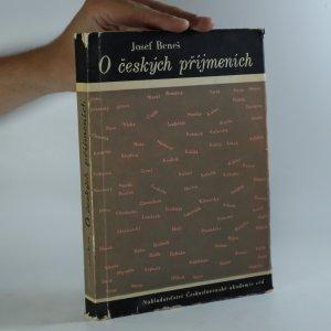 náhled knihy - O českých příjmeních