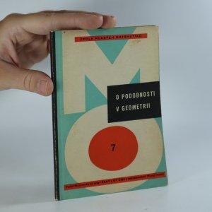 náhled knihy - O podobnosti v geometrii