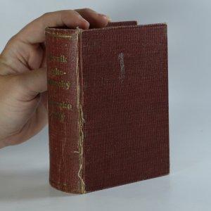 náhled knihy - Nový kapesní slovník česko-německý a německo-český