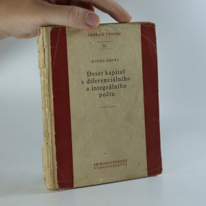 náhled knihy - Deset kapitol z diferenciálního a integrálního počtu