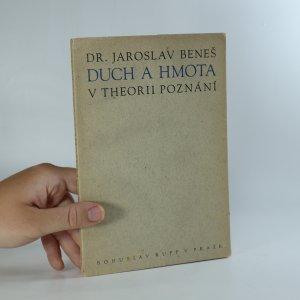 náhled knihy - Duch a hmota v theorii poznání