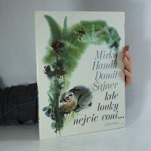 náhled knihy - Kde louky nejvíc voní
