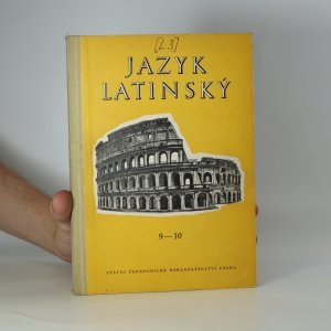 náhled knihy - Jazyk latinský. Cvičebnice pro 9. a 10. ročník všeobecně vzdělávacích škol
