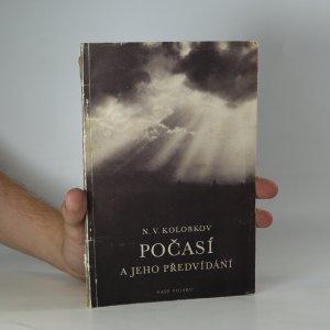 náhled knihy - Počasí a jeho předvídání