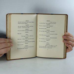 antikvární kniha König Ödipus , 1911