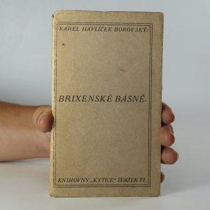 náhled knihy - Brixenské básně