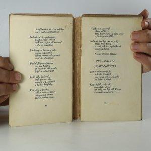 antikvární kniha Brixenské básně, 1913