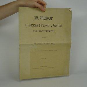 náhled knihy - Sv. Prokop k sedmistému výročí jeho svatořečení