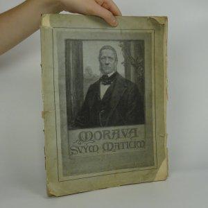 náhled knihy - Morava svým Maticím
