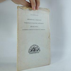 náhled knihy - Příspěvek k poznání Československých kožojedů (Dermestidae)