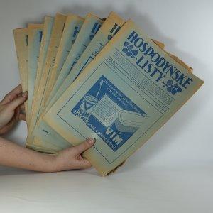 náhled knihy - Hospodyňské listy. Ročník XIV. Číslo 2, 5, 7, 8, 9, 10, 11, 12.