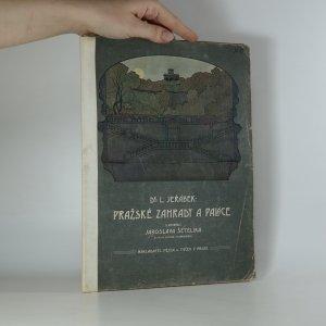 náhled knihy - Pražské zahrady a paláce