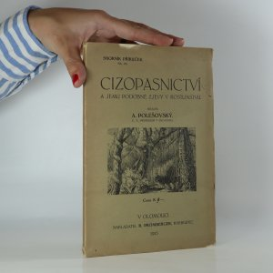 náhled knihy - Cizopasnictví a jemu podobné zjevy v rostlinstvu. (Je cítit zatuchlinou)