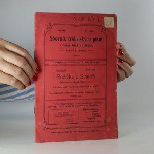 náhled knihy - Sborník trhlinských písní a seznam šlechny trhlinské (číslo 2.)