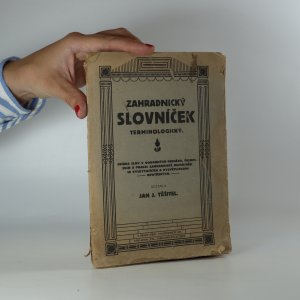 náhled knihy - Zahradnický slovníček terminologický