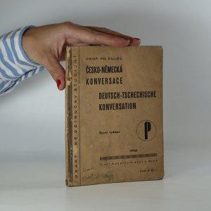 náhled knihy - Česko-německá konversace. Deutsch-Tschechische konversation (Je cítit zatuchlinou)