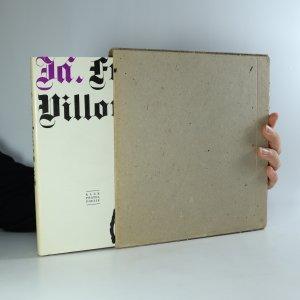 náhled knihy - Já, François Villon