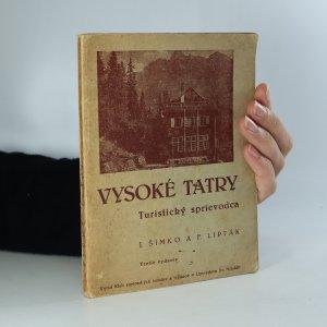 náhled knihy - Vysoké Tatry - Turistický sprievodca (je cítit zatuchlinou)