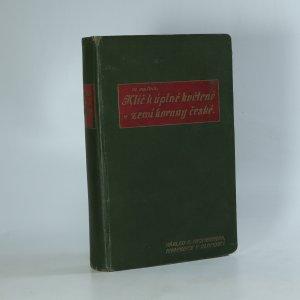náhled knihy - Klíč k Úplné květeně zemí koruny české (je cítit zatuchlinou)
