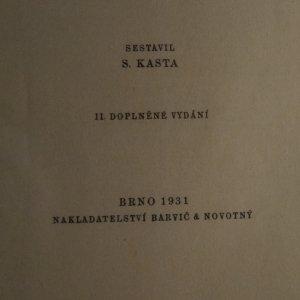 antikvární kniha Okolí Brna - 140 výletů (je cítit zatuchlinou) (chybí tur. mapa), 1931