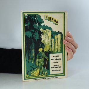náhled knihy - Okolí Brna - 140 výletů (je cítit zatuchlinou) (chybí tur. mapa)