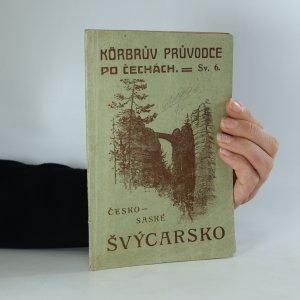 náhled knihy - Česko - saské Švýcarsko (je cítit zatuchlinou)