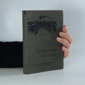 náhled knihy - Tatranská Lomnica (je cítit zatuchlinou)