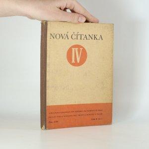 náhled knihy - Nová čítanka. 4. díl